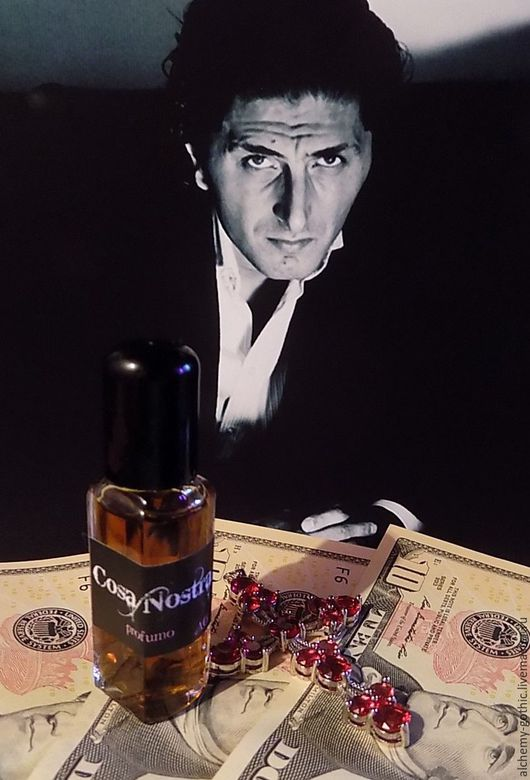 """Натуральные духи ручной работы. Ярмарка Мастеров - ручная работа. Купить """" Cosa Nostra """" духи натуральные. Handmade."""