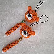 Куклы и игрушки handmade. Livemaster - original item Keychain-tiger cub. Handmade.