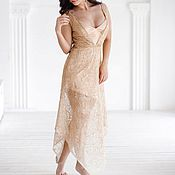 Одежда handmade. Livemaster - original item Dress gold. Handmade.