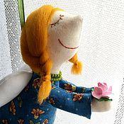 Куклы и игрушки ручной работы. Ярмарка Мастеров - ручная работа Фея хорошего настроения Рыжулька. Handmade.