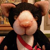 Куклы и игрушки ручной работы. Ярмарка Мастеров - ручная работа Мартовский кот Луи. Handmade.