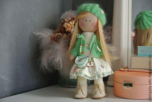 Куклы тыквоголовки ручной работы. Ярмарка Мастеров - ручная работа. Купить Интерьерная кукла. Handmade. Комбинированный, интерьерная кукла