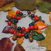 Украшения ручной работы. Ярмарка Мастеров - ручная работа Осенний браслет. Handmade.