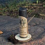 Ритуальная свеча ручной работы. Ярмарка Мастеров - ручная работа Свеча — программа «Валькирия». Handmade.