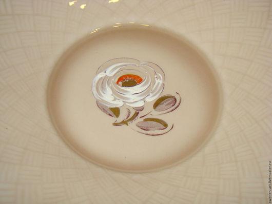 Винтажные предметы интерьера. Ярмарка Мастеров - ручная работа. Купить Арт -деко(1920)  Rorstrand-. 4 фарфоровые десертные тарелки. Handmade.