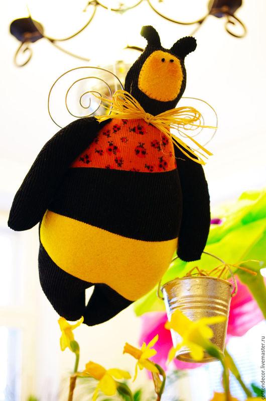 Куклы Тильды ручной работы. Ярмарка Мастеров - ручная работа. Купить Тильда «Пчела Андерс». Handmade. Комбинированный, текстильная игрушка