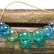 Украшения handmade. Livemaster - original item Beads blown glass