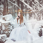 """Одежда ручной работы. Ярмарка Мастеров - ручная работа Корсет """"зимняя сказка"""". Handmade."""