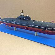 Сувениры и подарки ручной работы. Ярмарка Мастеров - ручная работа Модели подводных лодок, надводных кораблей. Handmade.