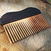 Сувениры и подарки ручной работы. Ярмарка Мастеров - ручная работа Гребень для волос из дерева. Handmade.