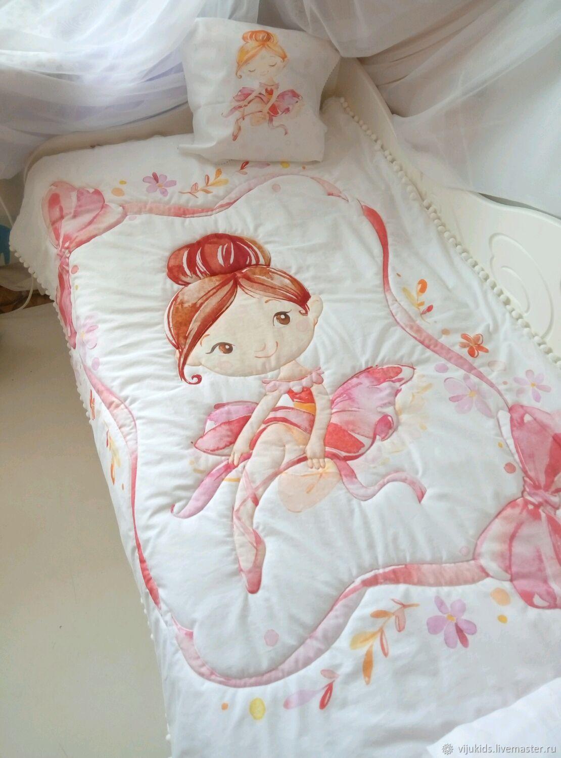 The bedding in the crib, Linen in the crib, Orekhovo-Zuyevo,  Фото №1