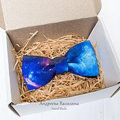 Аксессуары handmade. Livemaster - original item The bow-tie Space. Handmade.