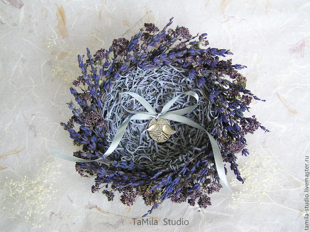 Подушечка для колец-гнездо Мастер-класс - Jolly Bunch