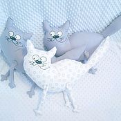 Мягкие игрушки ручной работы. Ярмарка Мастеров - ручная работа Хитрый кот. Handmade.