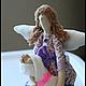 Куклы Тильды ручной работы. Тильда-мама. Александра. Интернет-магазин Ярмарка Мастеров. Мама, кукла, пуговицы