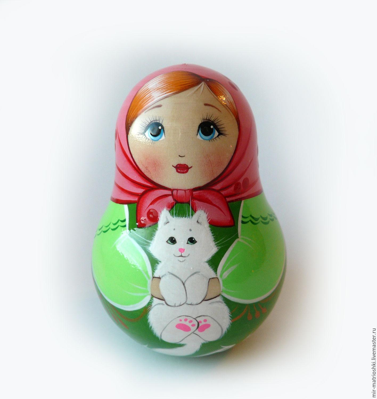 Tumbler 'Annie Matreshkina' (with bells) 1, Dolls1, Sarov, Фото №1
