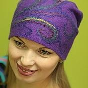Аксессуары handmade. Livemaster - original item The hat felted.women`s. Handmade.