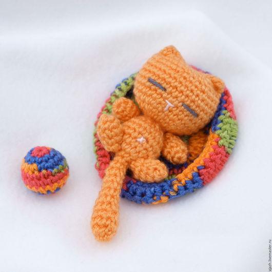 Игрушки животные, ручной работы. Ярмарка Мастеров - ручная работа. Купить Кот Рыжик. Handmade. Рыжий, киса, игрушка для детей