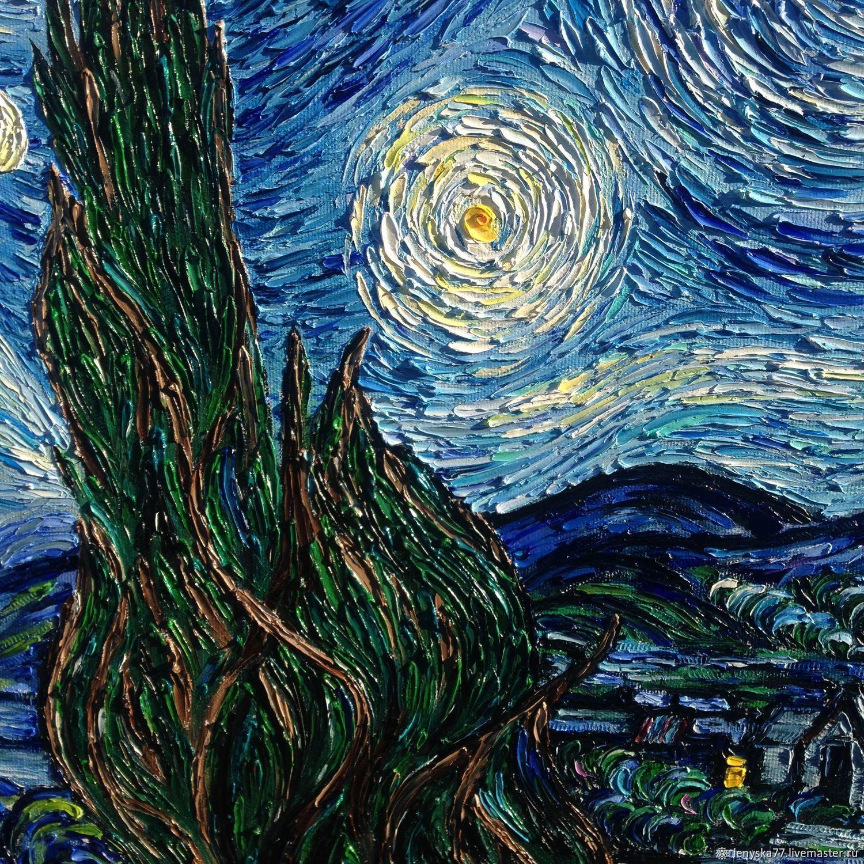 картина ван гога звездная ночь оригинал фото для вас звенит