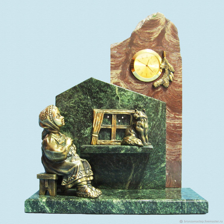 """Часы для дома ручной работы. Ярмарка Мастеров - ручная работа. Купить Часы """" Даренка """". Handmade. Литье, подарок"""
