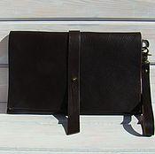 Кожаная сумка Клатч кожаный Nut Casual.