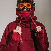 Одежда handmade. Livemaster - original item Snowboard hoodie
