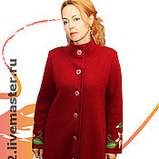 "Одежда handmade. Livemaster - original item Knitted coat""Lily is so different"". Handmade."