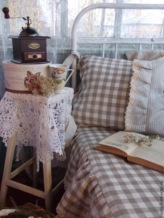 """Текстиль, ковры ручной работы. Ярмарка Мастеров - ручная работа. Купить Покрывало""""Кантри"""". Handmade. Бежевый, покрывало, покрывало в спальню"""