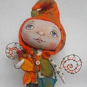 Куклы и игрушки ручной работы. Ярмарка Мастеров - ручная работа Гном осеннего леса. Handmade.
