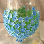 Для дома и интерьера handmade. Livemaster - original item Flower vase ,,Blue Rhapsody,,. Handmade.