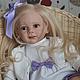 Куклы-младенцы и reborn ручной работы. Ярмарка Мастеров - ручная работа. Купить Милена!. Handmade. Сиреневый, винил