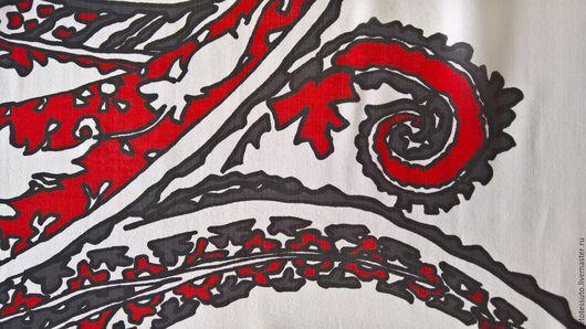 Шитье ручной работы. Ярмарка Мастеров - ручная работа. Купить Итальянский шелковый шифон. Handmade. Комбинированный, итальянские ткани, платье