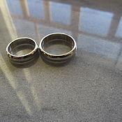 Украшения ручной работы. Ярмарка Мастеров - ручная работа кольца обручальные Пара. Handmade.