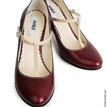 Обувь ручной работы. Ярмарка Мастеров - ручная работа Туфли Etna. Handmade.