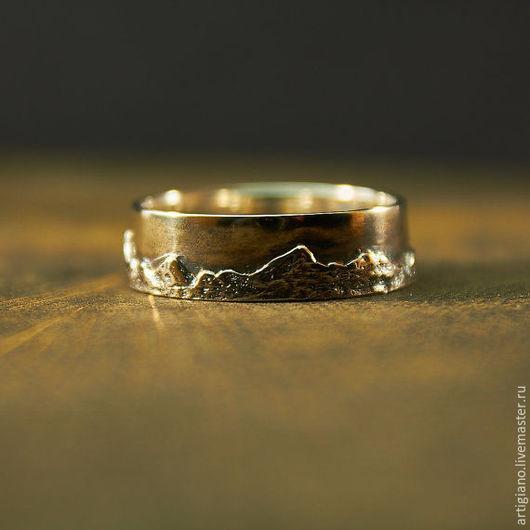 Кольца ручной работы. Ярмарка Мастеров - ручная работа. Купить Кольцо Карпаты. Handmade. Карпаты, кольцо ручной работы, скалы