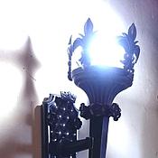 """Для дома и интерьера ручной работы. Ярмарка Мастеров - ручная работа Бра-факел""""Именем Короля !!! ..."""". Handmade."""