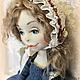 Коллекционные куклы ручной работы. Винтажное фото. Ольга Ким (OlgaKim). Ярмарка Мастеров. Интерьерная кукла, бархат