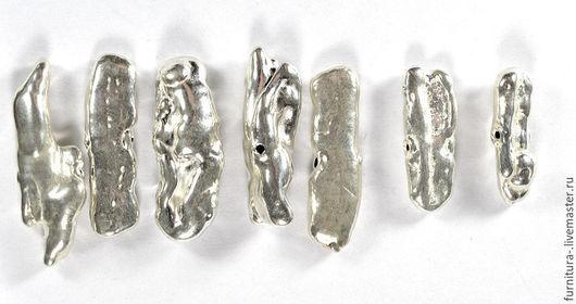Для украшений ручной работы. Ярмарка Мастеров - ручная работа. Купить Серебряная крупная бусина 925 пробы, в ассортименте. Handmade.
