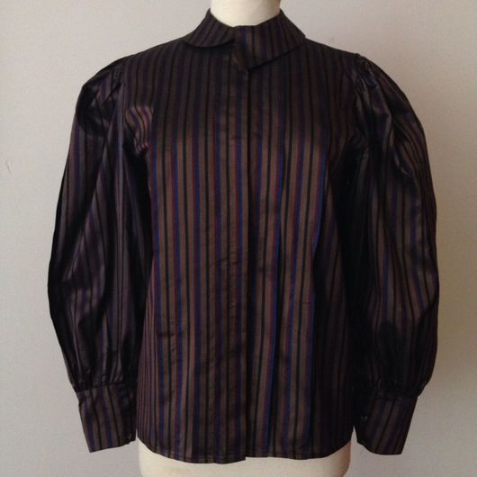 Одежда. Ярмарка Мастеров - ручная работа. Купить Винтажная блузка ESCADA, начало 1980'х. Handmade. Винтаж, шелковая блузка, шёлк