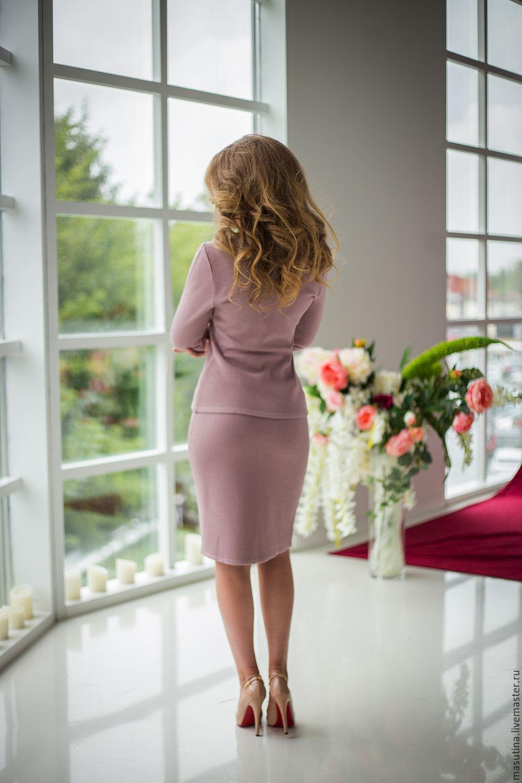 Купить вязаный костюм женский доставка