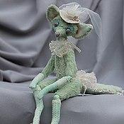 Куклы и игрушки ручной работы. Ярмарка Мастеров - ручная работа Лисичка Милания. Handmade.