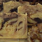 Косметика ручной работы. Ярмарка Мастеров - ручная работа Овсяное с медом и шоколадом. Натуральное мыло с нуля. Handmade.
