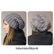 Аксессуары handmade. Livemaster - original item Hat knitted