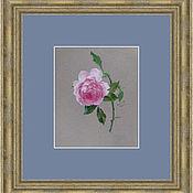 """Картины ручной работы. Ярмарка Мастеров - ручная работа """"Роза"""" акварель. Handmade."""