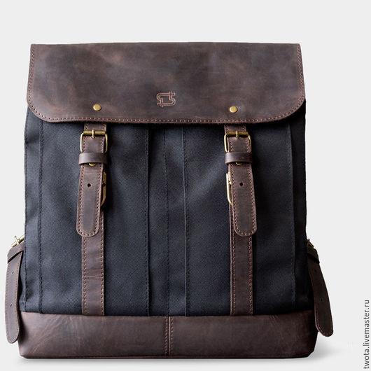 """Мужские сумки ручной работы. Ярмарка Мастеров - ручная работа. Купить Рюкзак """"William"""". Handmade. Рюкзак, сумка"""