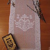 Подарки к праздникам ручной работы. Ярмарка Мастеров - ручная работа Пасхальное полотенце, накидка, салфетка. Handmade.