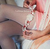 Свадебный салон ручной работы. Ярмарка Мастеров - ручная работа Подвязка для невесты.. Handmade.
