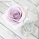 Заколки ручной работы. Заказать Набор шпилек с розами - Сиреневые (3 шт). Tanya Flower. Ярмарка Мастеров. Украшение в прическу