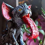 Куклы и игрушки handmade. Livemaster - original item Look ay Sean. Cat race.. Handmade.