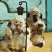 """Куклы и игрушки ручной работы. Ярмарка Мастеров - ручная работа """"Рано-рано два барана..."""". Handmade."""